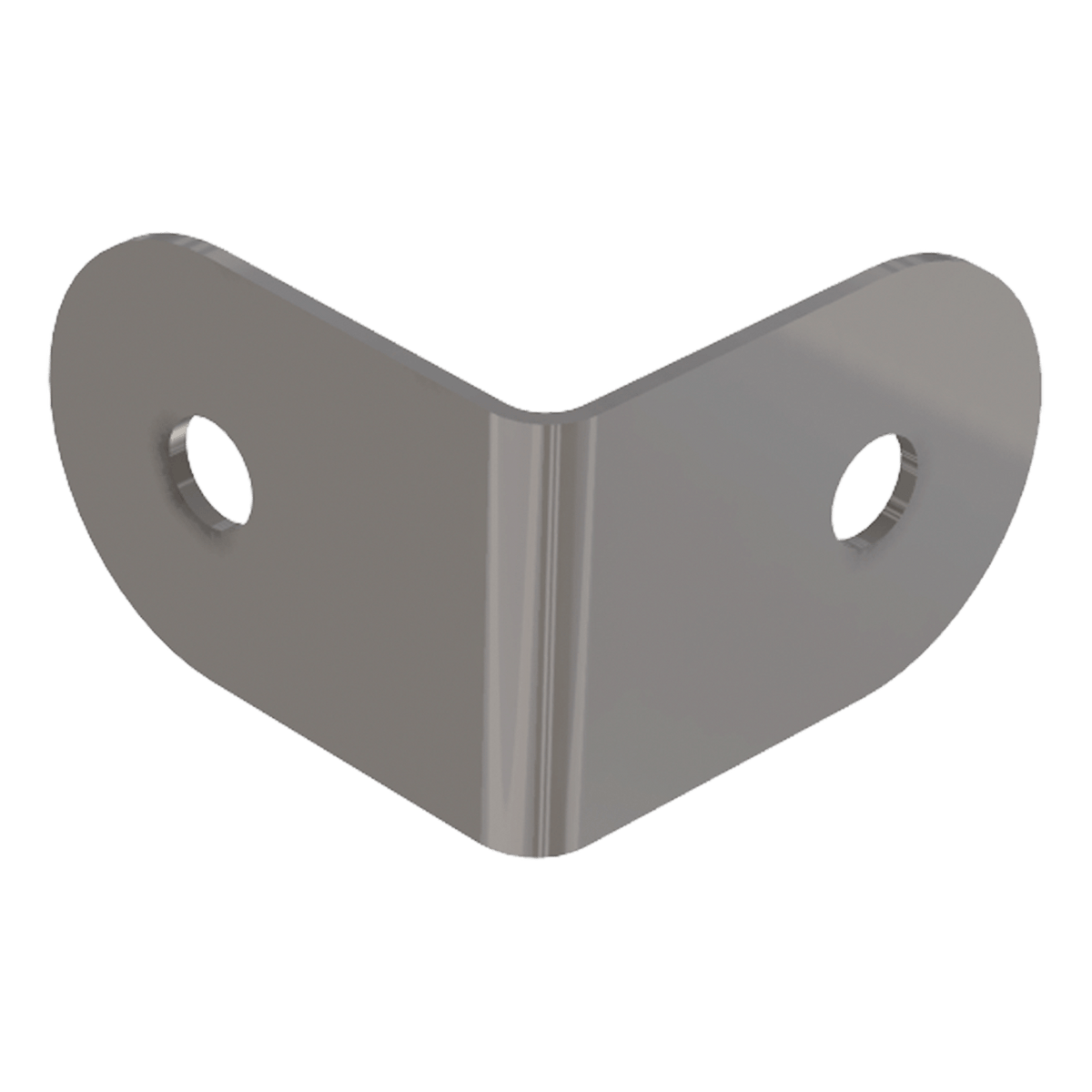 Small Two-Hole Clamp, 3/4 view