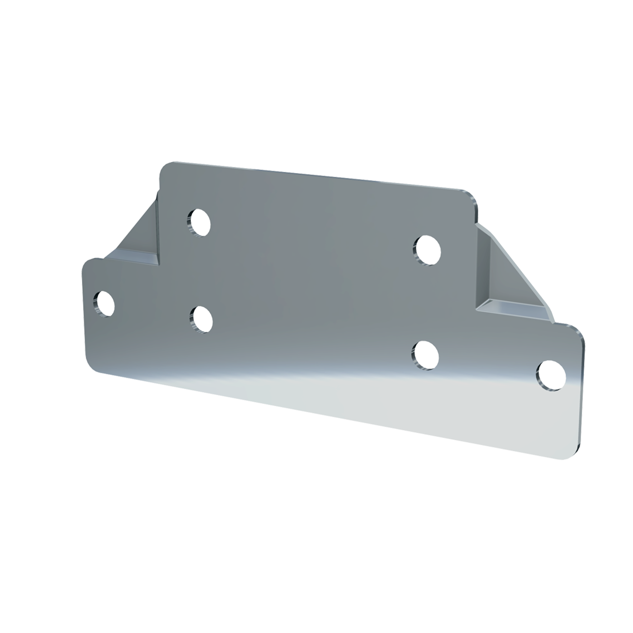 "7/8"" Offset Flat Clamp, 3/4 view"