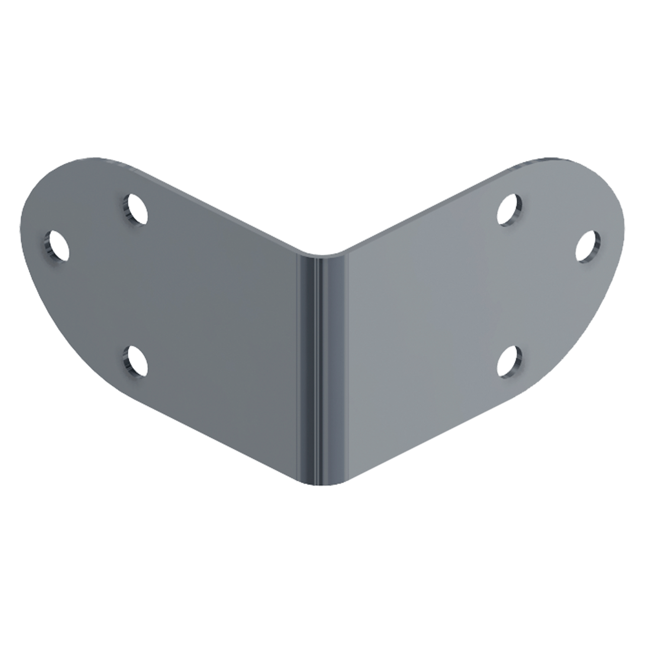 Six-Hole Clamp, 3/4 view