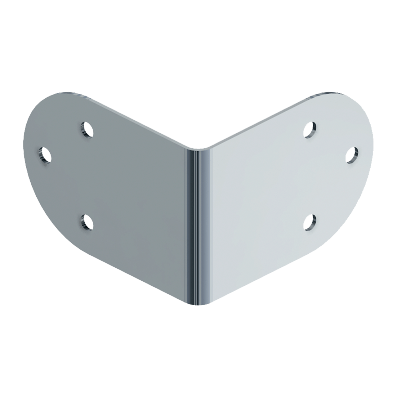 Extra Large Six-Hole Clamp, 3/4 view