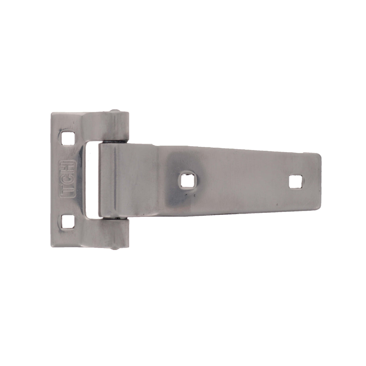 "3"" Polished Stainless Steel Strap Hinge"