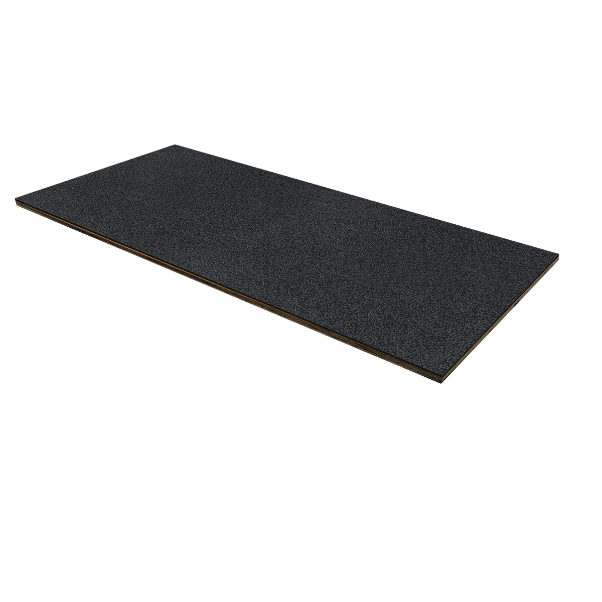 "1/8"" Luan Plywood ABS Laminate - Black"