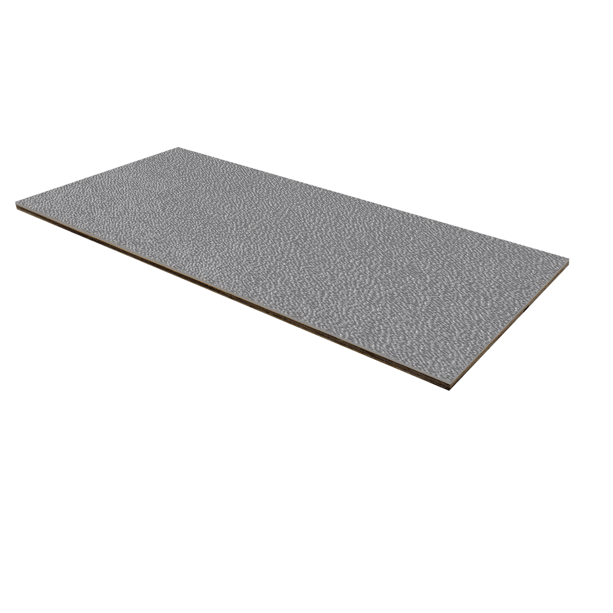 "1/8"" Luan Plywood ABS Laminate - Silver"