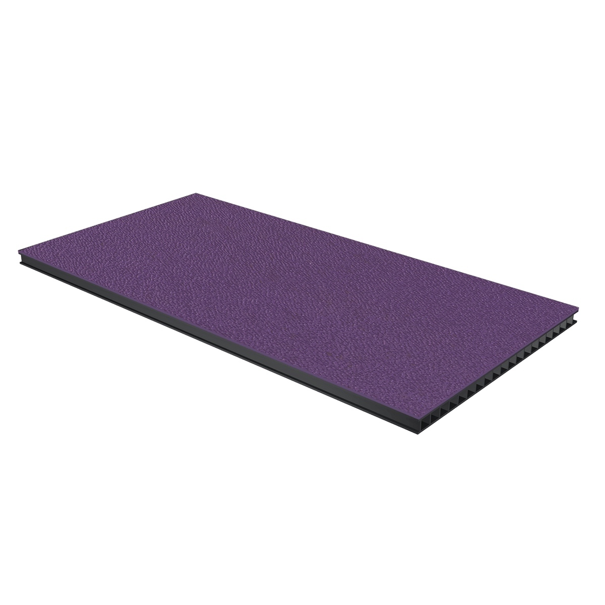 "1/4"" Corrugated Laminate - Purple"