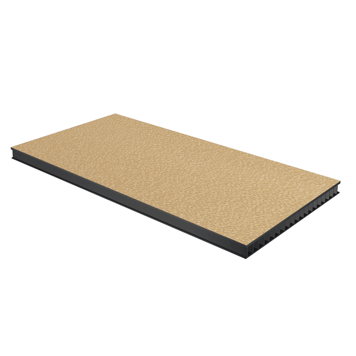 "3/8"" Corrugated Laminate - Desert Tan"