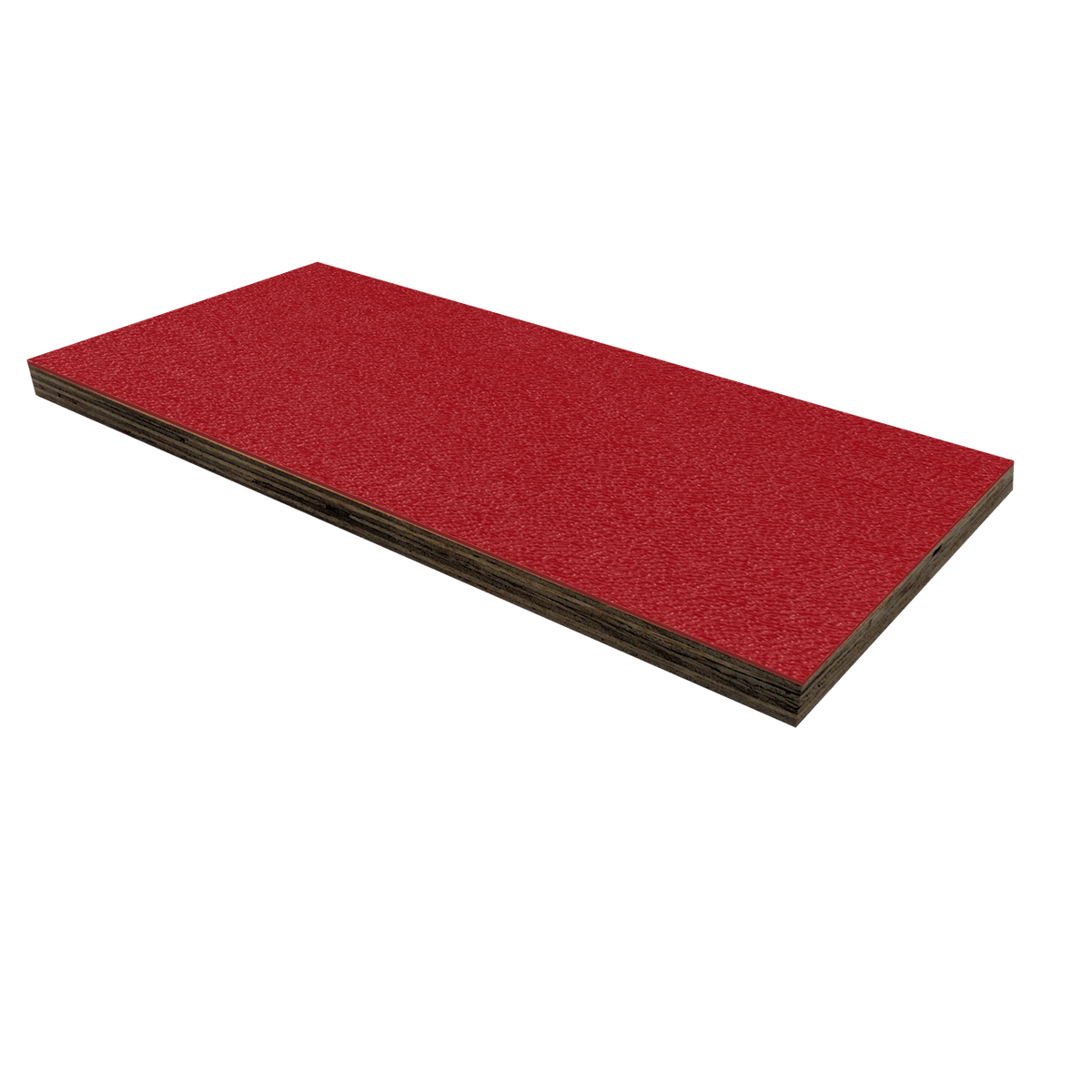 "1/2"" Birch Plywood Laminate - Red"