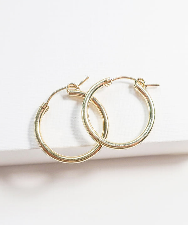 Elaina Hoop Earrings