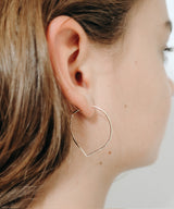 Simple Leaf Earrings