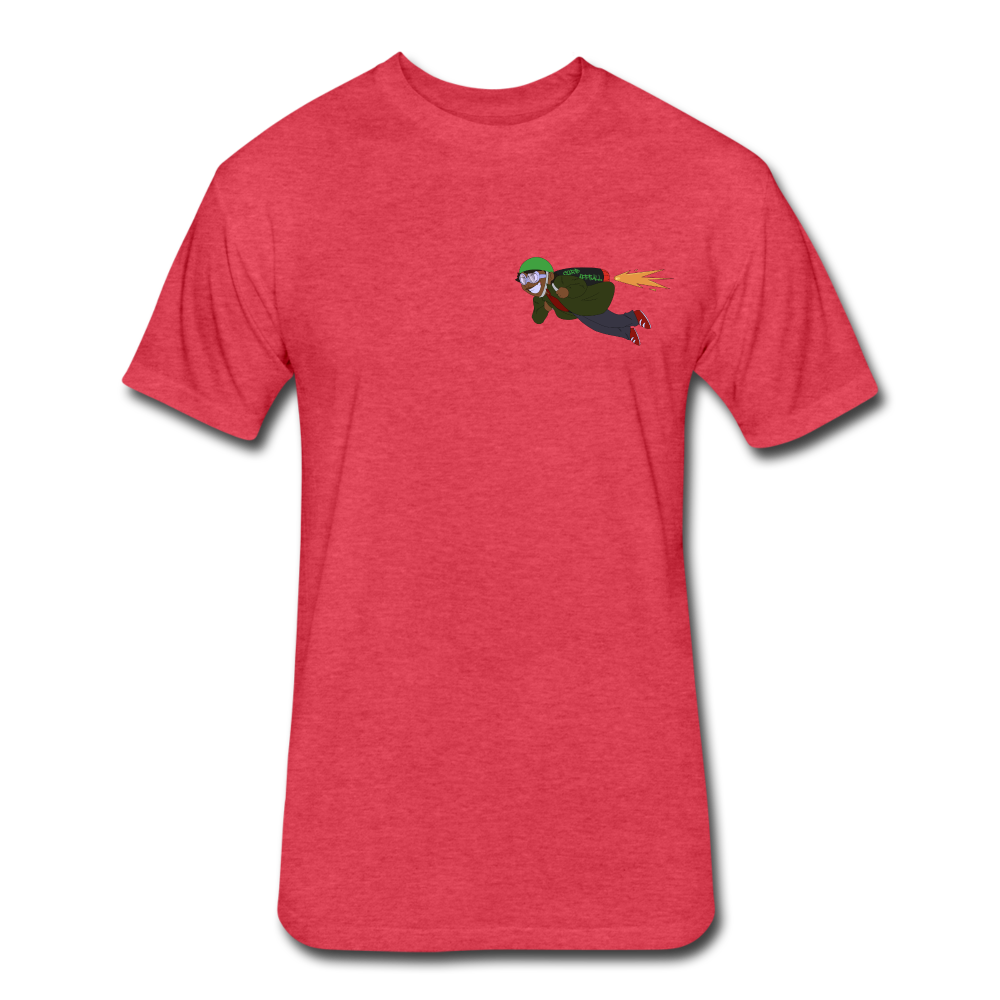 Fly Curb Appeall Fly T - heather red