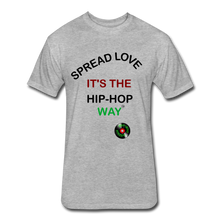 Load image into Gallery viewer, The Foundation: Spread Love. It's The Hip-Hop Way. - heather gray