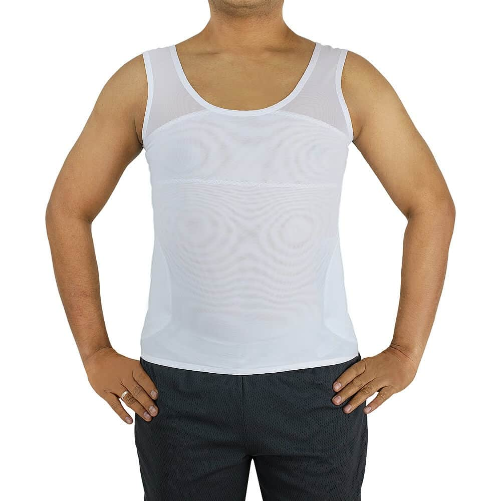 Confidence-Bodywear FTM Binder Compression Tank Top to flatten chest