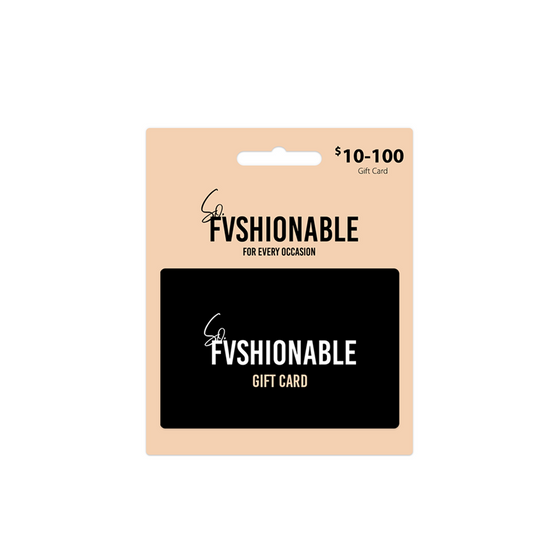 Gift Card - Sofvshionable