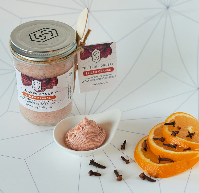 Spiced Orange - Whipped Soap and Scrub