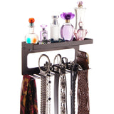 Belt Holder Organizer Wall Mount Closet Storage Rack Arinn Bronze