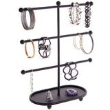 Bracelet Holder Display Stand Hoop Earring Organizer Amy Black