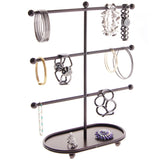 Bracelet Holder Display Stand Hoop Earring Organizer Amy Bronze