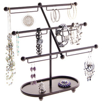 Earring Holder Hoops Bracelet Display Jewelry Stand Isabel Bronze
