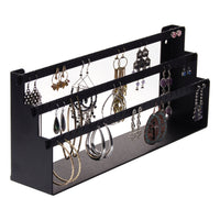 Earring Holder Organizer Jewelry Display Stand Daelyn Black