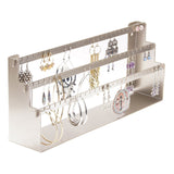 Earring Holder Organizer Jewelry Display Stand Daelyn Silver