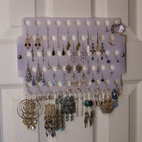 Dorm Room Storage Earring Holder Jewelry Organizer Hanging Rack
