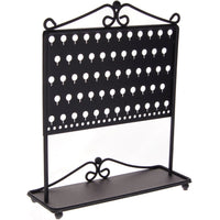 Stud Earring Holder Organizer Display Stand Black Angelynn's