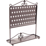 Stud Earring Holder Organizer Display Stand Bronze Angelynn's