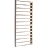 Wall Mount Earring Holder Organizer Closet Jewelry Storage Rack Luka Large Silver