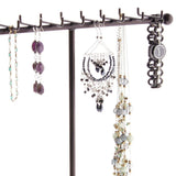 Necklace Tree Holder Stand Display Jewelry Organizer Storage Rack Gianna Bronze
