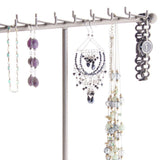 Necklace Tree Holder Stand Display Jewelry Organizer Storage Rack Gianna Silver