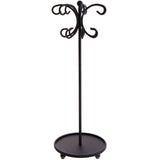 Angelynn's Necklace Holder Organizer Display Stand Storage Rack Ava Black