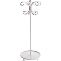 Angelynn's Necklace Holder Organizer Display Stand Storage Rack Ava White