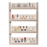 Cufflink Organizer Holder Storage Display Jaymes Silver