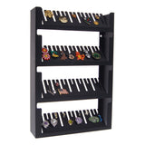 Angelynn's Jewelry Organizer Cufflink Pin Tie Tack Holder Black