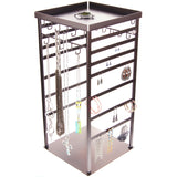 360 Rotating Earring Holder and Necklace Organizer Stand, Julie