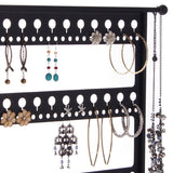 Earring Holder Display Stand Jewelry Organizer Rack Laela Black