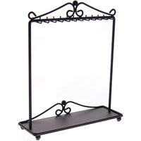 Angelynn's Necklace Display Stand Jewelry Holder Organizer Storage Rack Calla Black