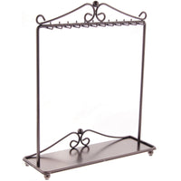 Angelynn's Necklace Display Stand Jewelry Holder Organizer Storage Rack Calla Bronze