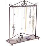 Hanging Necklace Holder Organizer Display Stand Storage Rack Calla Bronze