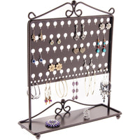 Stud Earring Holder Organizer Display Stand Ginger Bronze
