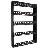 Wall Mount Earring Holder Hanging Jewelry Organizer Rack Nichole Black