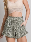 Dana Green Ruffle Short