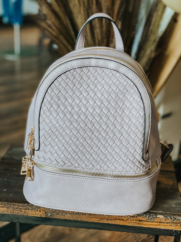 Fiona Woven Backpack