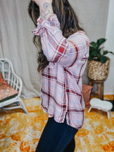Load image into Gallery viewer, Pink Plaid Shirt