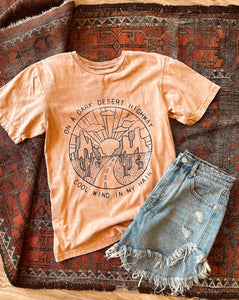 Desert Highway Mineral Wash Tee