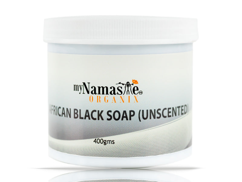 African black soap unscented (Paste)
