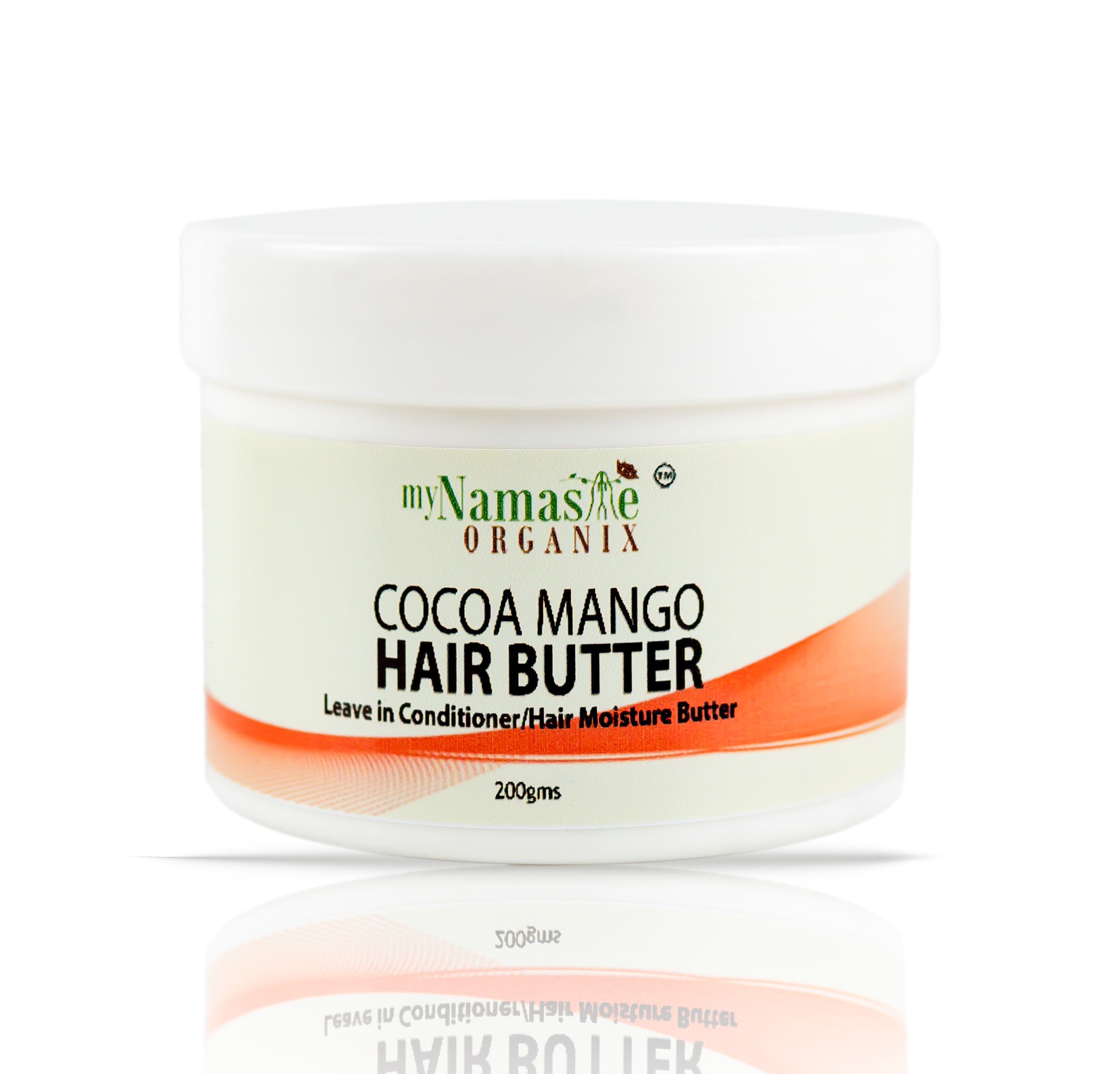 Cocoa Mango Hair Butter with Rosemary & Peppermint-Daily Hair and Scalp butter