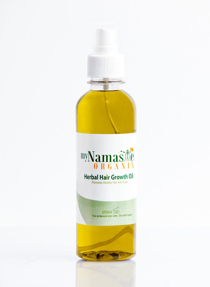 Herbal Hair Growth oil - Namaste Organics
