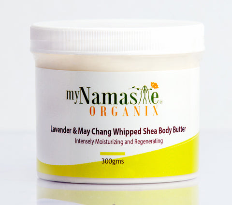 Lavender and MayChang Whipped Shea body butter ...Soothing, relaxing, clarifying and purifying