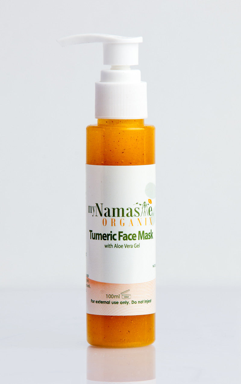 Turmeric Face Mask with Licorice root powder - Namaste Organics