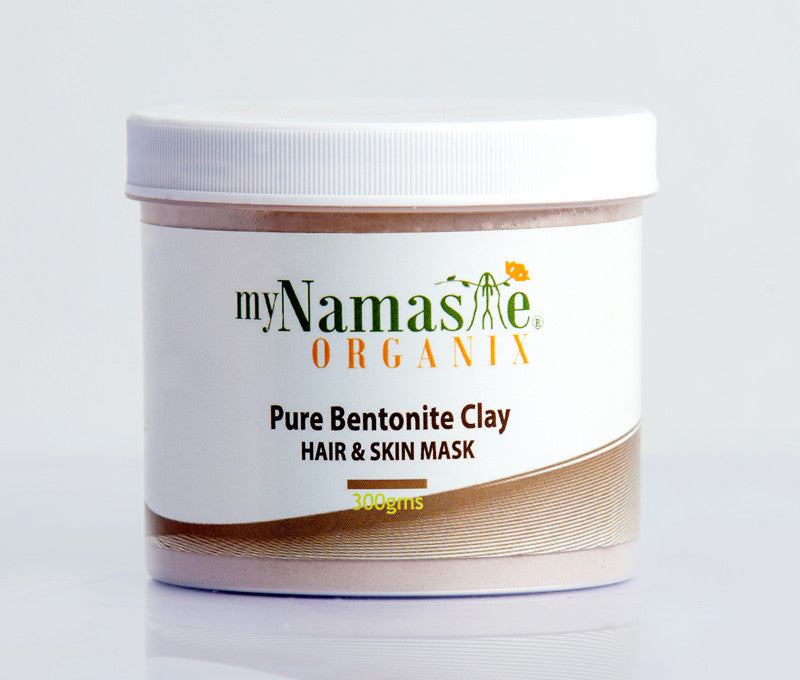 Bentonite Clay, Face and Hair mask - Namaste Organics